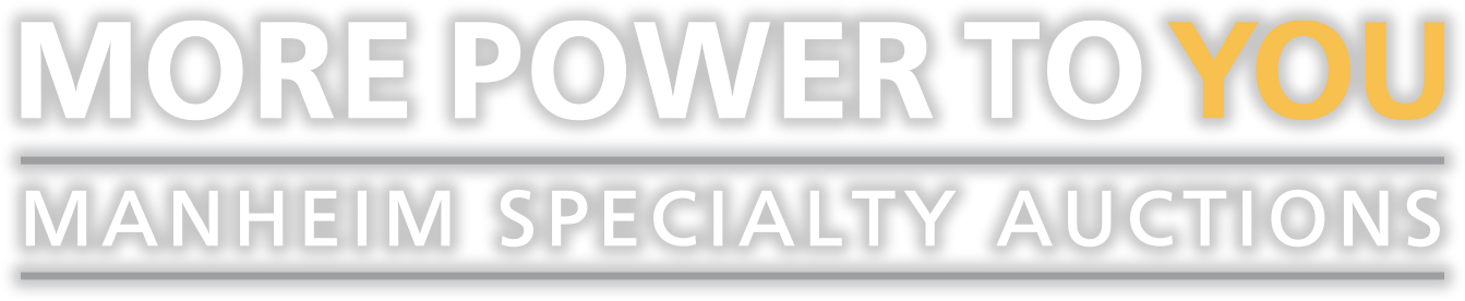 More Power to You - Manheim Specialty Auctions
